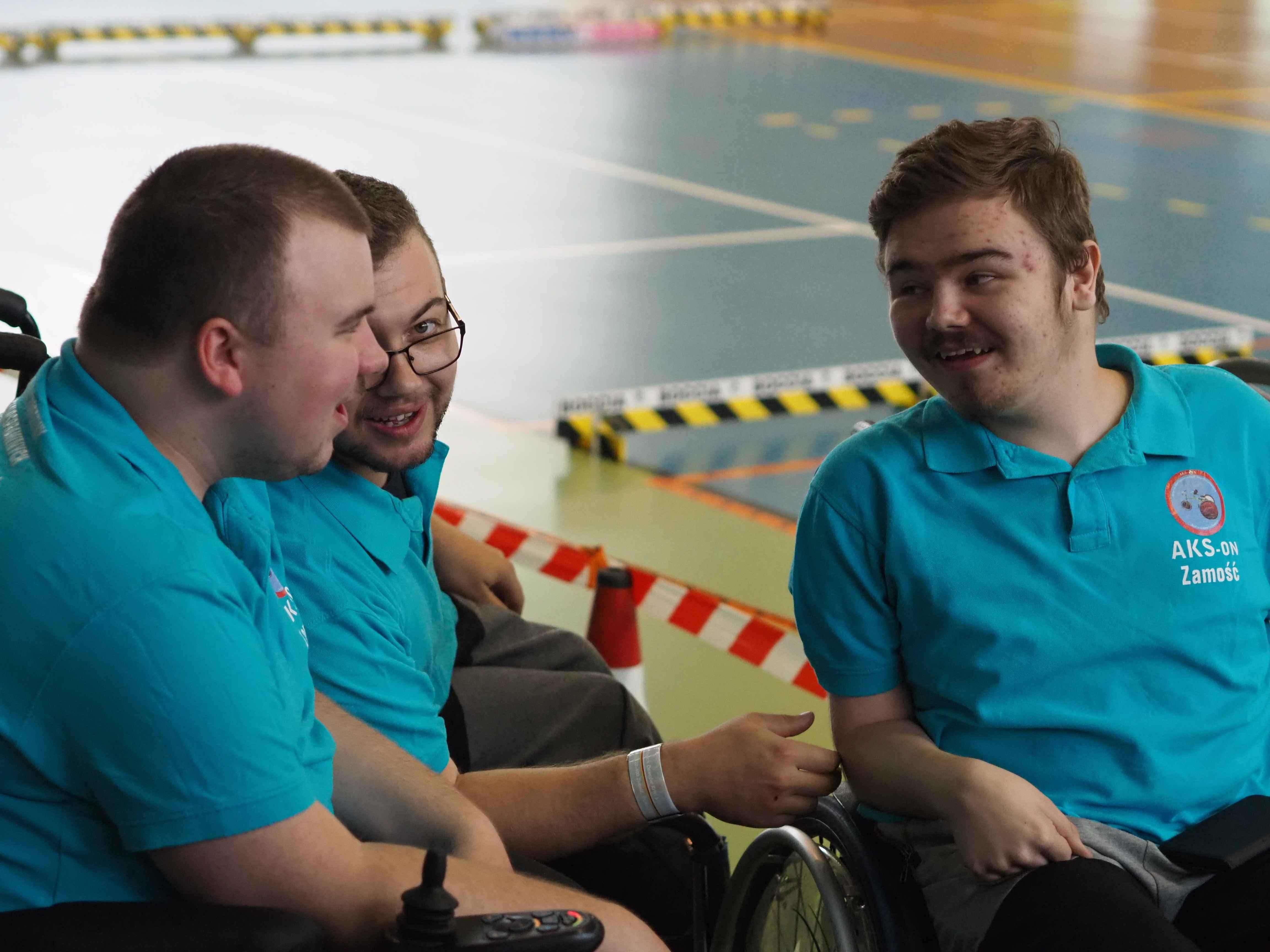 AKS-ON                                                                         Aktywny Klub Sportowy Osób Niepełnosprawnych
